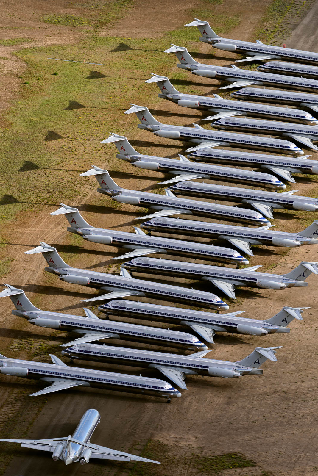 American Airlines MD 80 to be scrapped