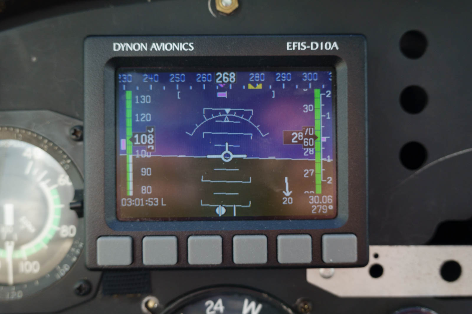 But the 20 kts headwind does not help