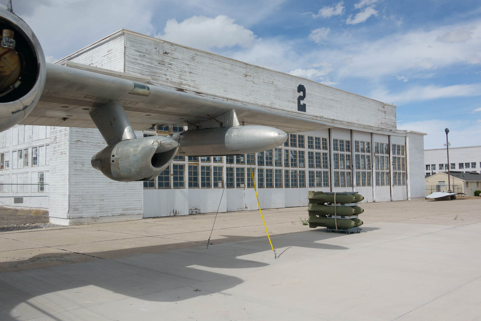 Decommissioned Air Force base at Wendover