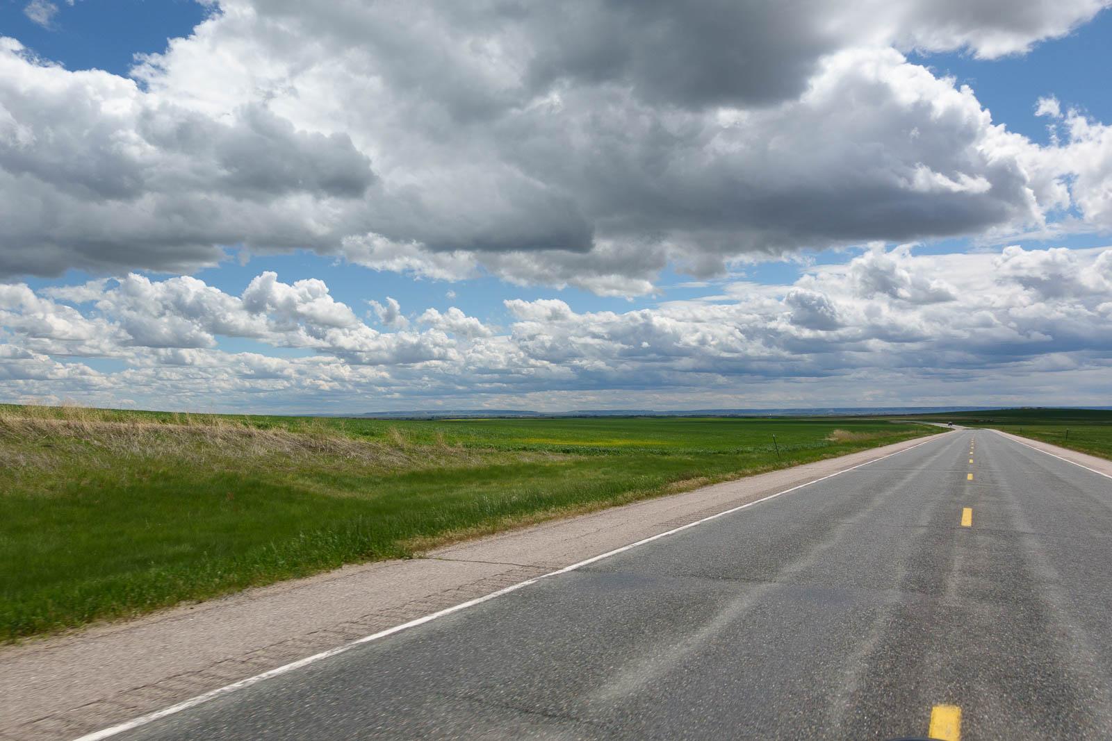 Mini crew car road-trip in Torrington, WY