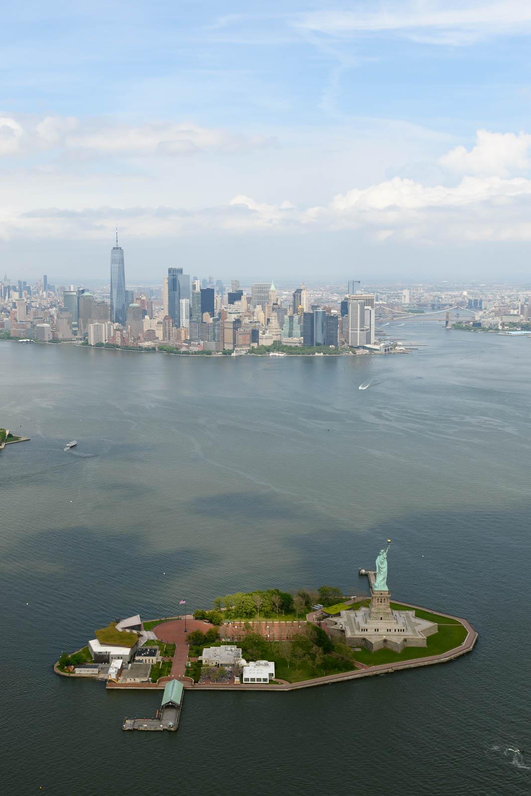 Lady Liberty welcomes...
