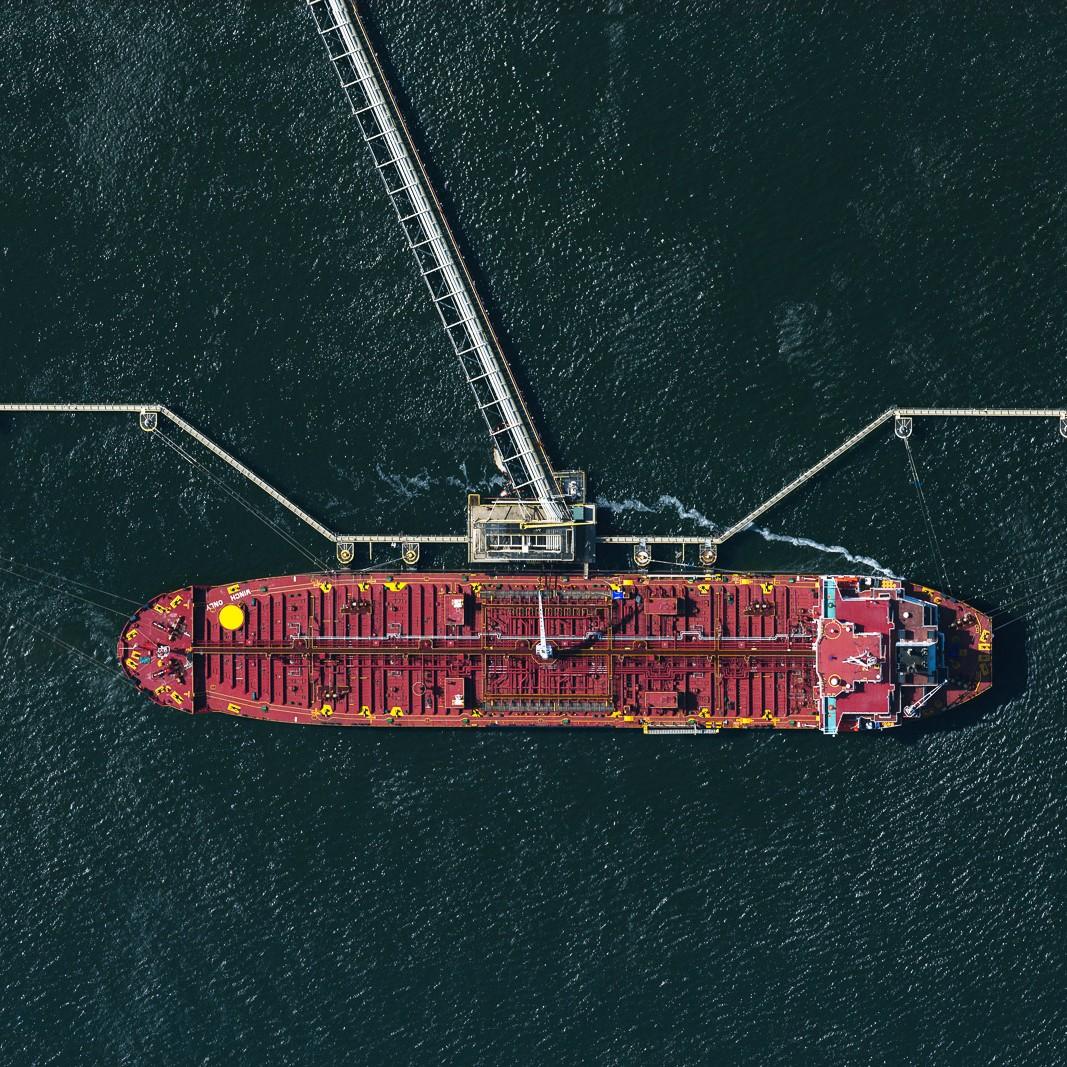 Oil Tanker at Port Newark