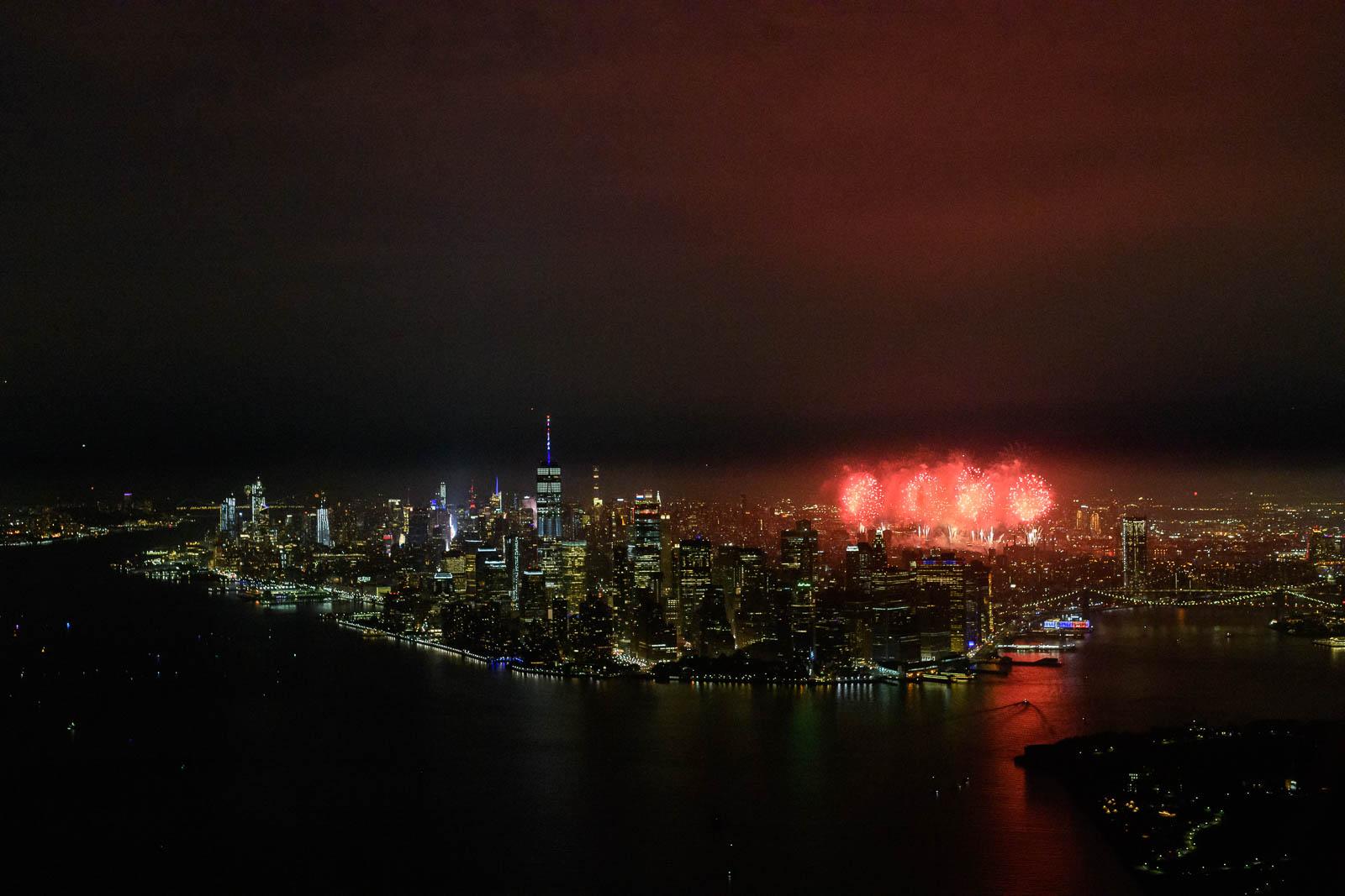 New York City July 4th Fireworks