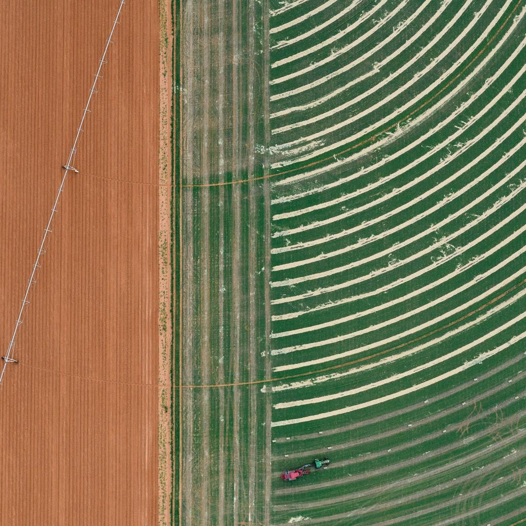 Cultivation of fields in Lamesa, TX