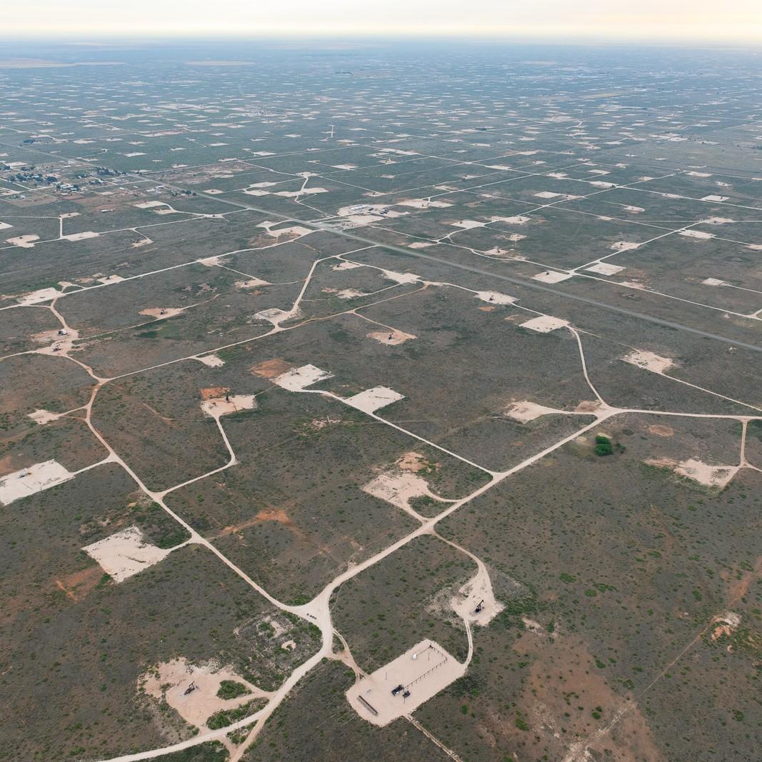 Oil fields near Denver City, TX