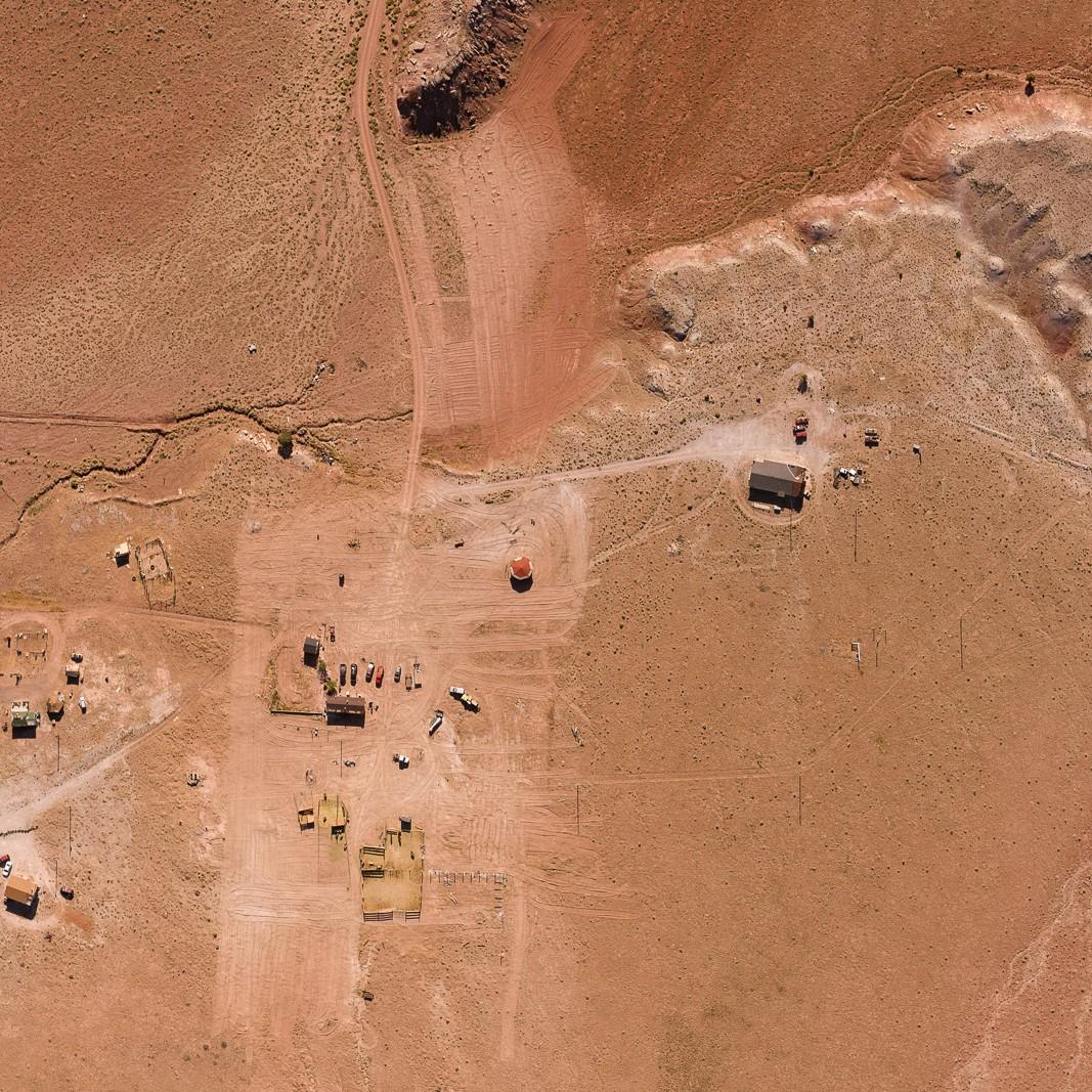 Navajo Settlement in Nazlini, AZ