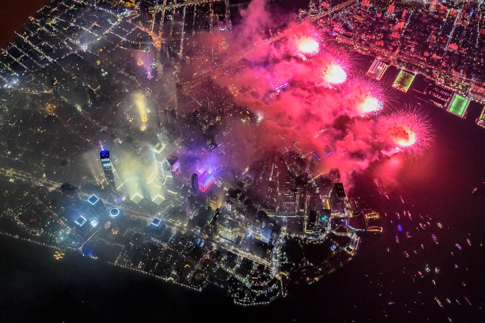 New York City July 4th Fireworks - HERO