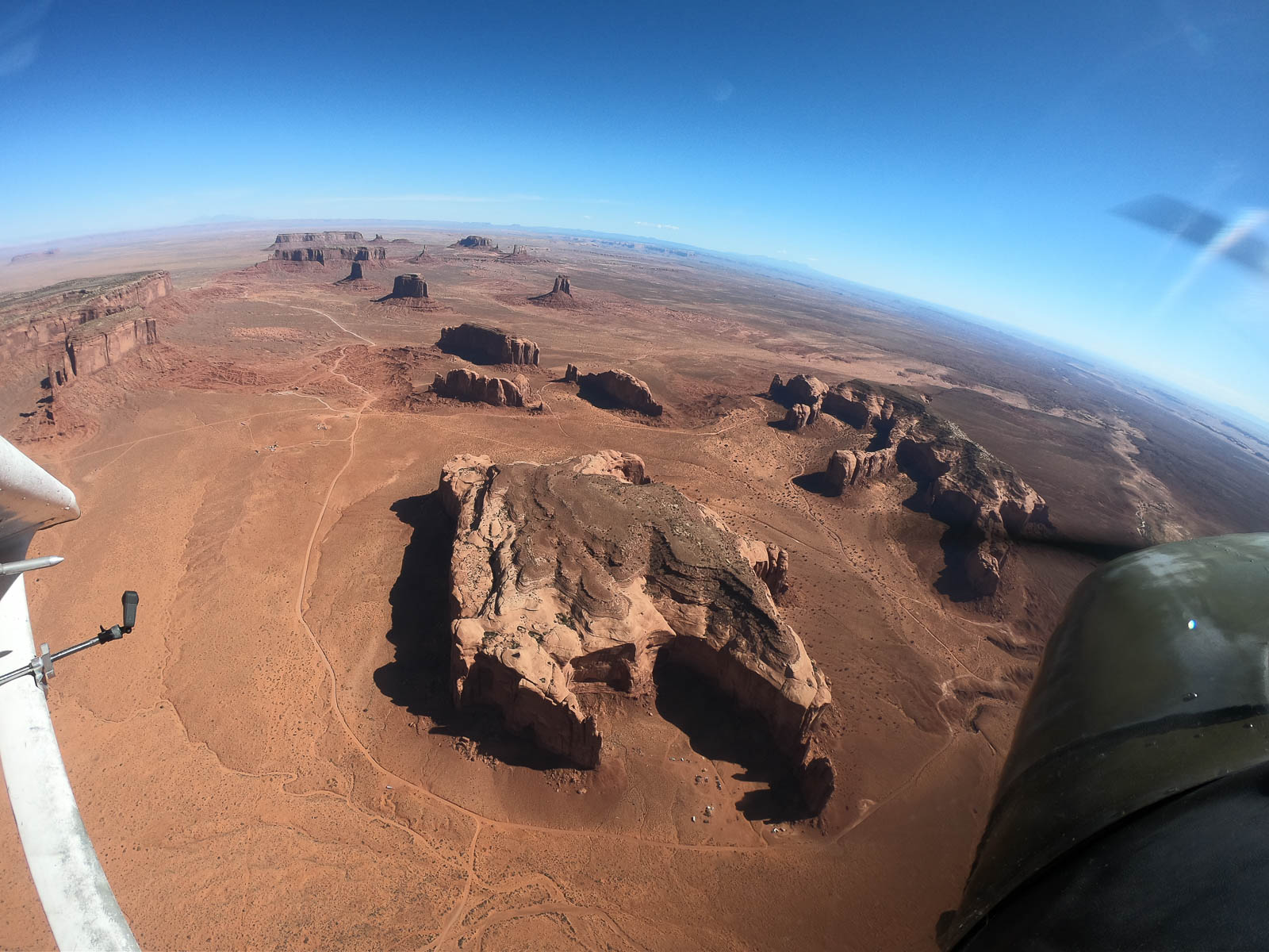 Entering the Monument Valley
